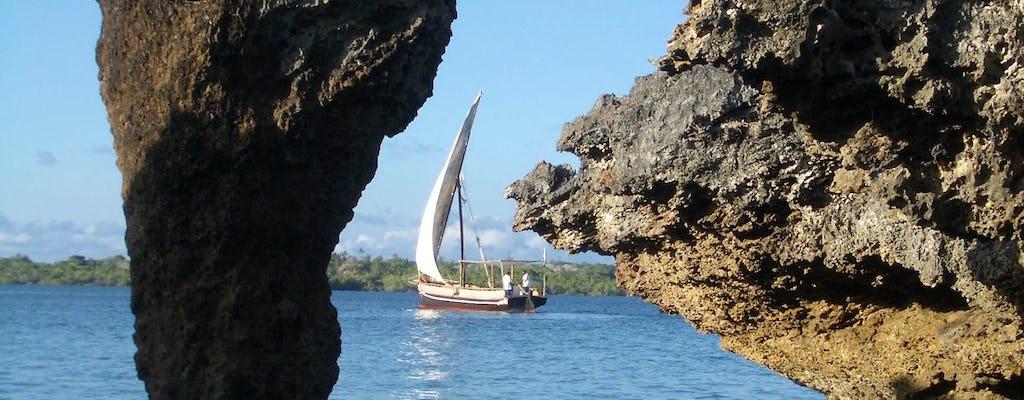 Safari en mer jusqu'à Wasini en boutre