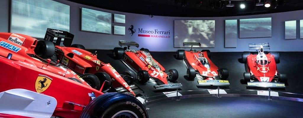 Ferrari Museums Tickets mit Shuttle von Bologna