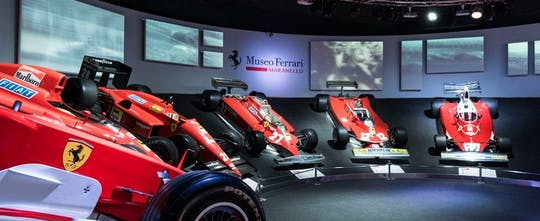 Ferrari Museums tickets with shuttle from Bologna