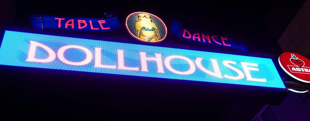 Hamburger Kiez-Tour mit Dollhouse Eintritt