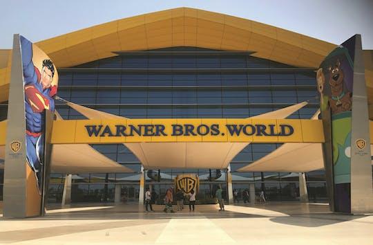 Abu Dhabi Mosque and Warner Bros tour from Dubai