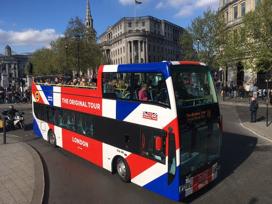 The Original Tour London: Multi-Day Hop-on Hop-off Tour with Tickets to Local Attractions
