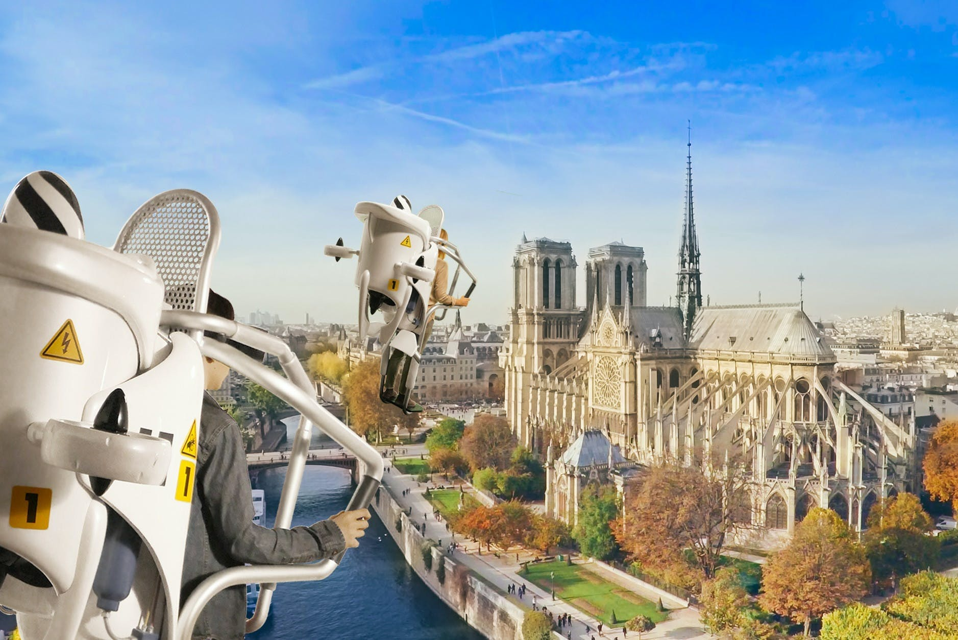 Tickets for FlyView Paris virtual reality tour