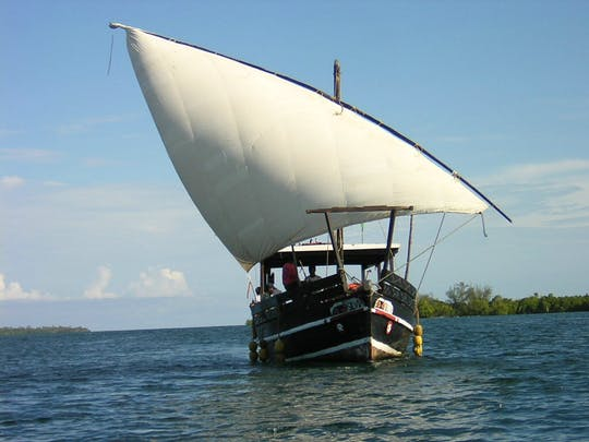 Funzi and Kinazini Islands dhow cruise