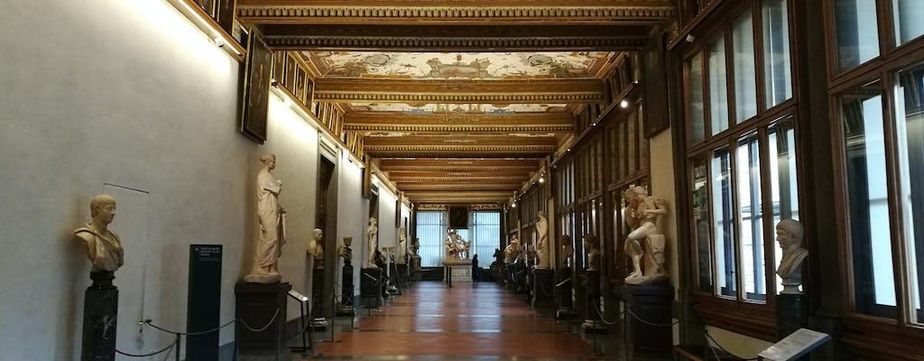Expérience guidée combinée gallerie des Offices et la galleria dell'Accademia