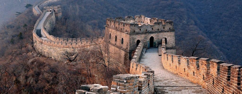 Tour privado de la Gran Muralla de China y las tumbas de Ming