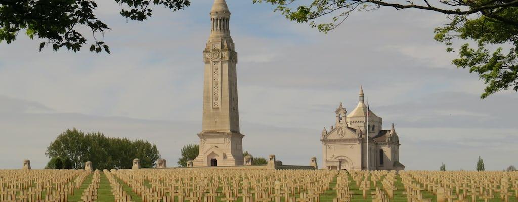 Excursion d'une demi-journée au départ d'Arras ou de Lens jusqu'à Notre-Dame-de-Lorette et la colline 70