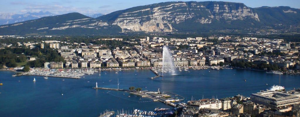 Женева обзорная экскурсия и круиз на лодке