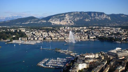Visita a la ciudad de Ginebra y crucero en barco