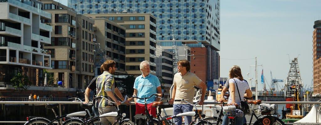 Paseo en bicicleta por Hamburgo
