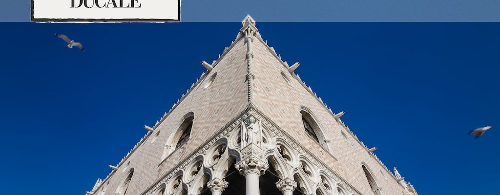 Doge's Palace skip-the-line tickets and guided tour with museums around St. Mark's Square