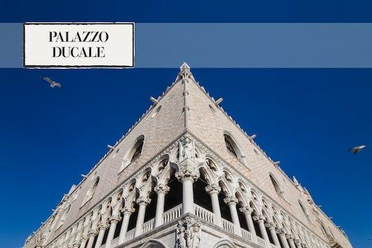 Las entradas de la línea directa del Palacio Ducal y la visita guiada a museos de la Plaza de San Marcos
