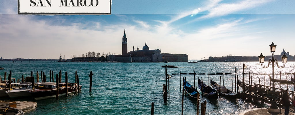 Panoramic aperitif on a boat along St. Mark's Basin