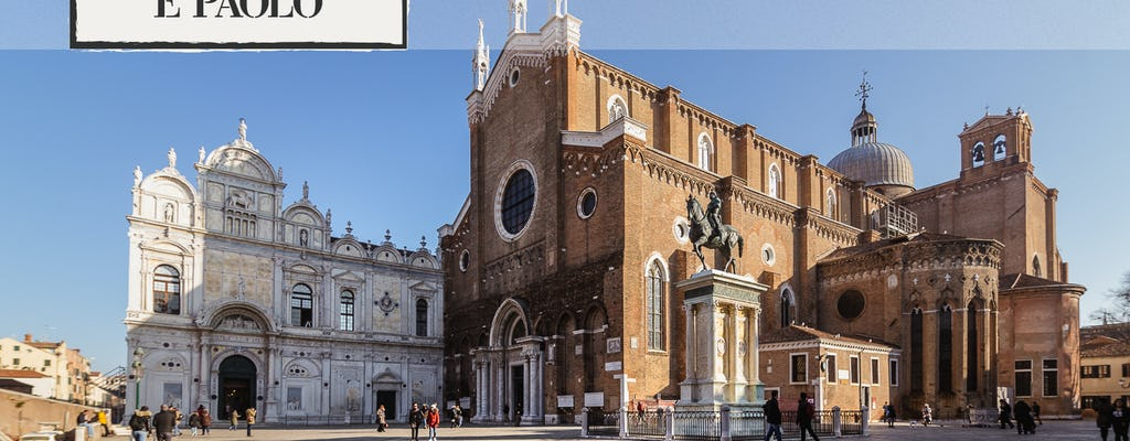 Combo tour: walking tour of Venice with skip-the-line Grand Canal ride