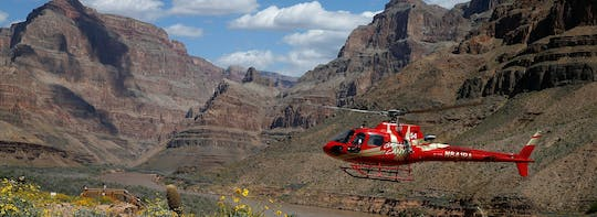 Grand Voyager boat and helicopter tour from Las Vegas