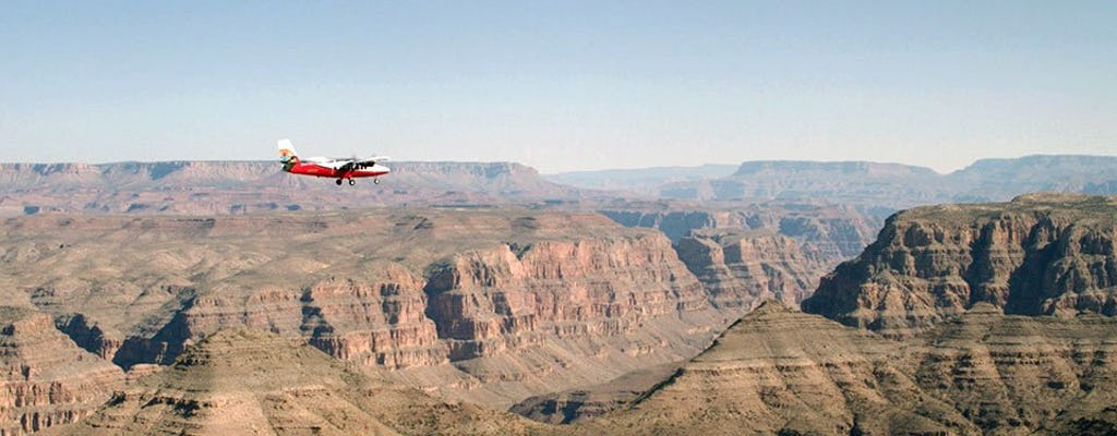 Visionary air tour :  vol de Las Vegas jusqu'au Grand Canyon West Rim
