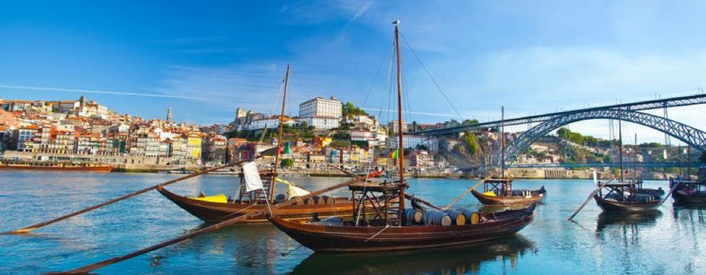 Tour de día completo en la ciudad de Oporto