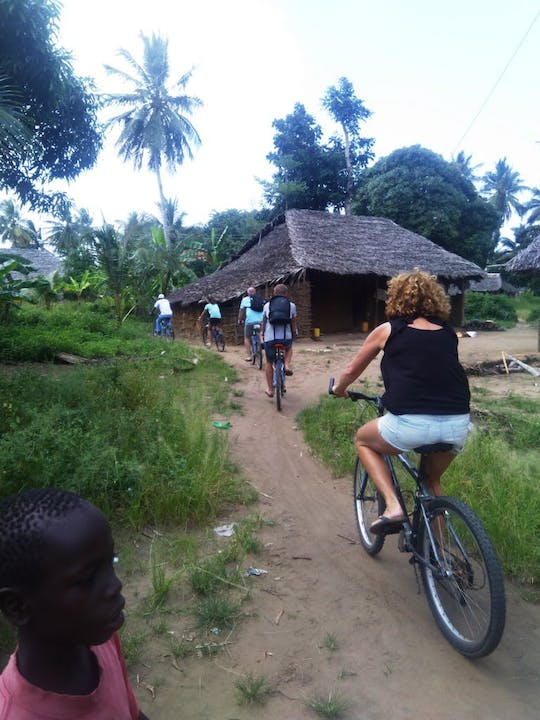 Diani cultural bike tour