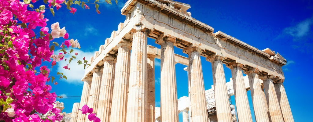 Trip to the Acropolis and Plaka distirct