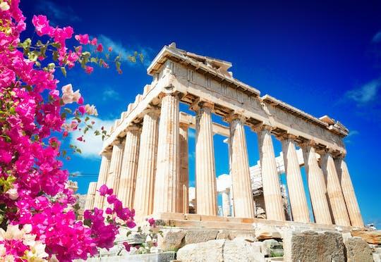 Viaggio nell'Acropoli e nella Plaka distirct