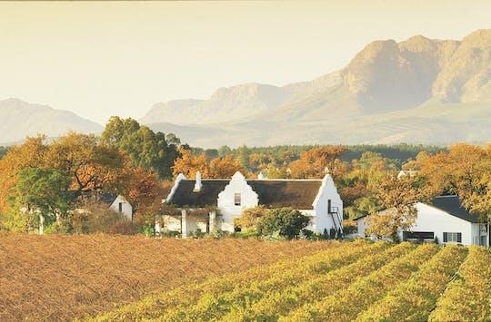 Półdniowa wspólna wycieczka do Cape Winelands