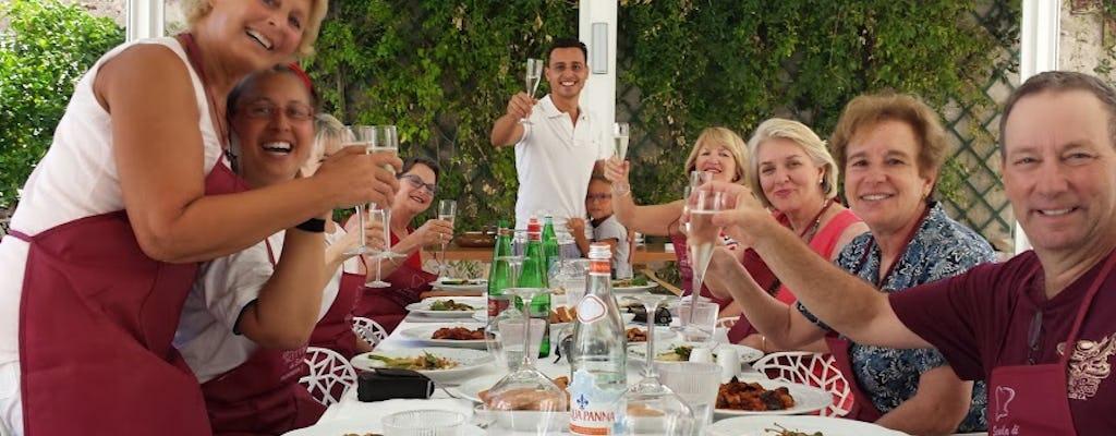 Sicilian cooking class in Taormina