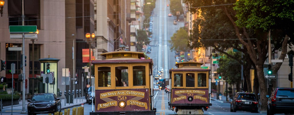 San Francisco in a Day, Golden Gate Bridge, Chinatown, Fisherman's Wharf i Cable Car Ride