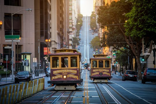 San Francisco in a day with Golden Gate Bridge, Fisherman's Wharf and bay cruise
