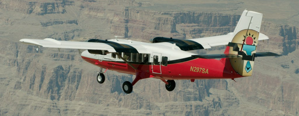 Grand Canyon North air and ground tour with ATV from Las Vegas