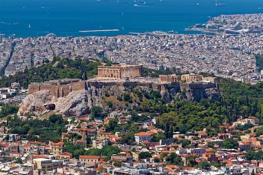 Maaltijd in Athene met een mooie rit