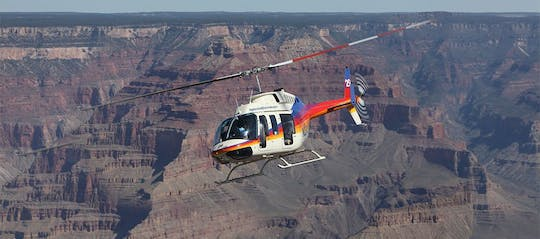 Grand Canyon deluxe with air, helicopter, and bus from Las Vegas