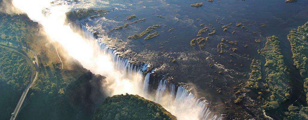 Wycieczka po wodospadach Wiktorii w Zimbabwe