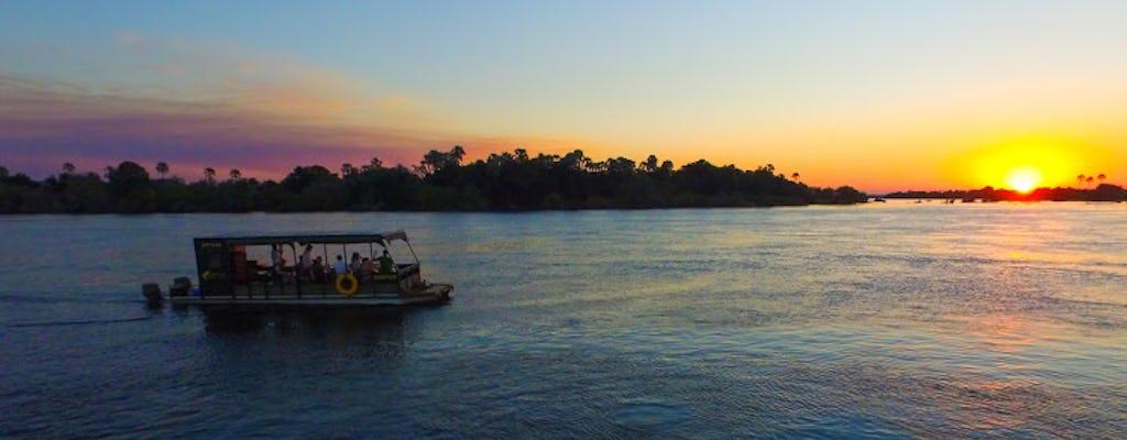 Crociera al tramonto alle Victoria Falls  sul fiume Zambezi