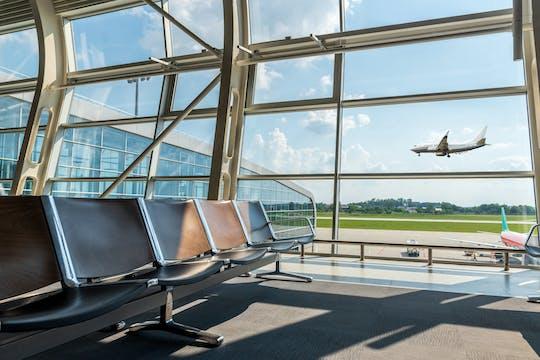 El aeropuerto de Frankfurt conoce y saluda al asistente