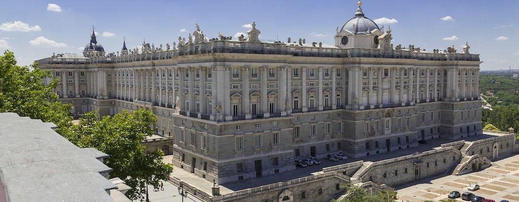 Entradas sin colas y visita con un guía experto al Palacio Real de Madrid