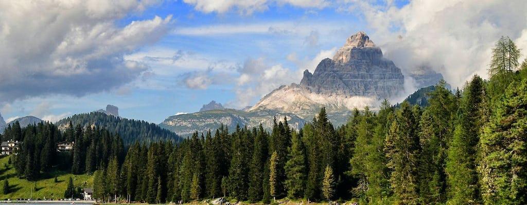 Cortina e a viagem de um dia das Dolomitas de Veneza