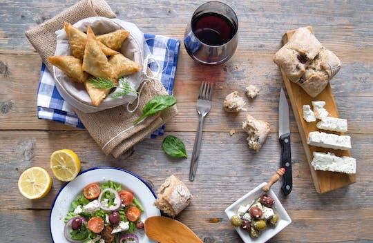 Corso di cucina a Santorini