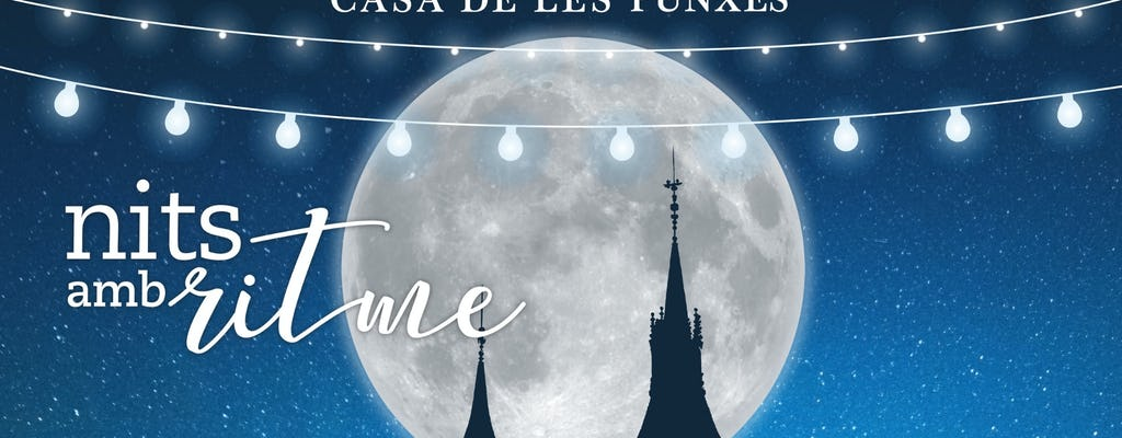 Casa de les Punxes Nits amb Ritme concierto en la terraza