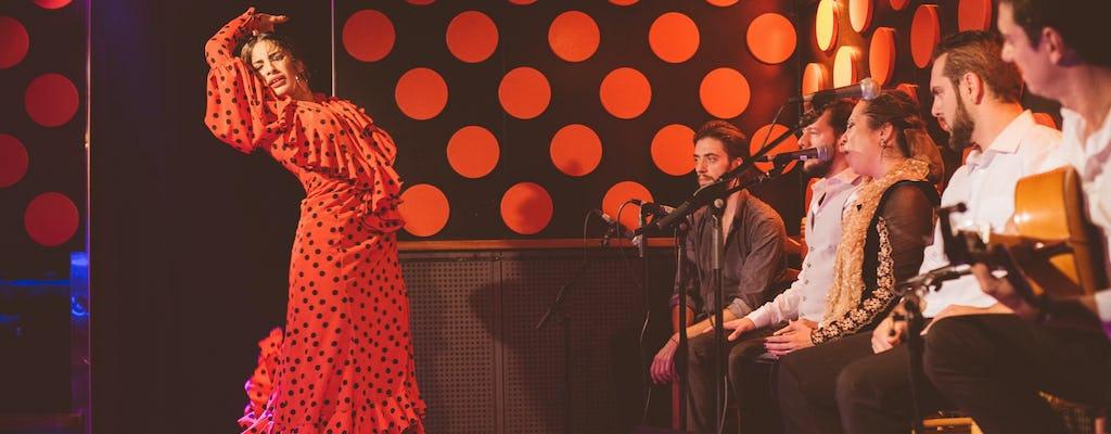 Flamenco show and tapas dinner