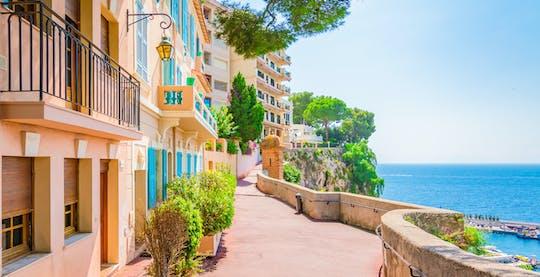 Эз, Монако и Монте-Карло полдня