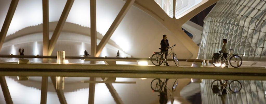 Tour de bicicleta noturna de Valência