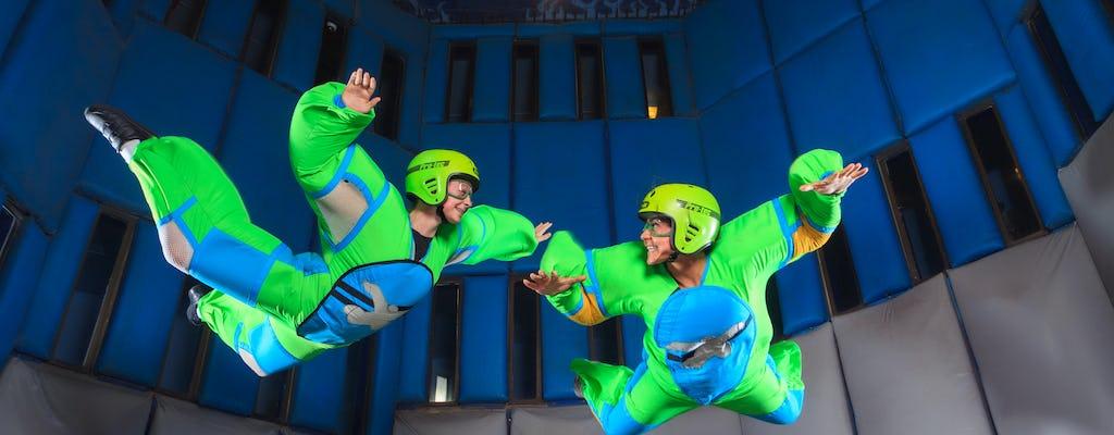 Aprenda a voar no Vegas Indoor Skydiving