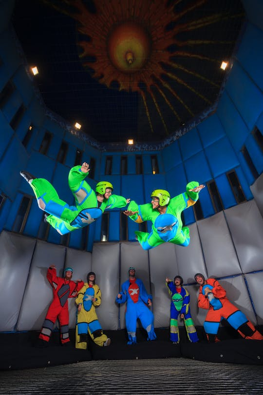 Naucz się latać na skoki spadochronowe w Vegas