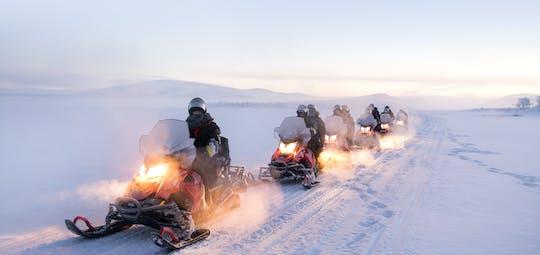 Avventura in motoslitta da Tromsø alla Lapponia finlandese