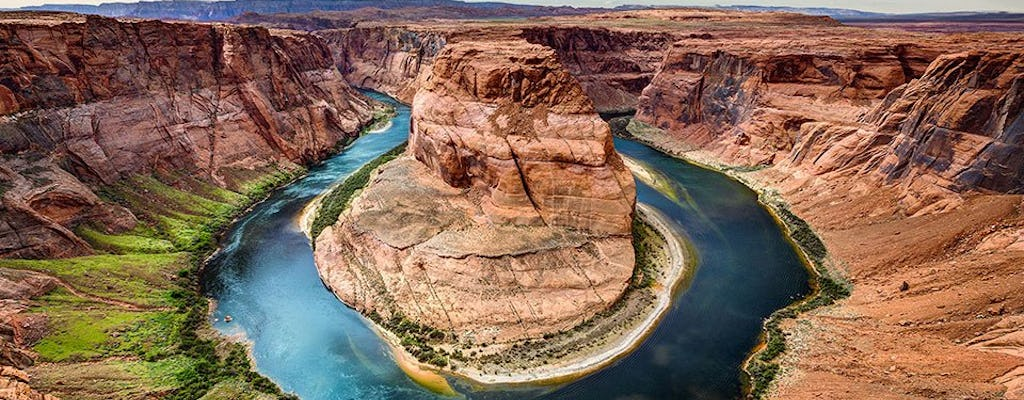 Lake Powell and Horseshoe Bend air only tour from Arizona