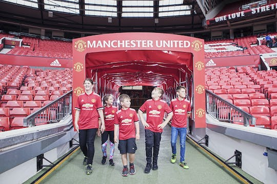 Visita ao museu e estádio do Manchester United