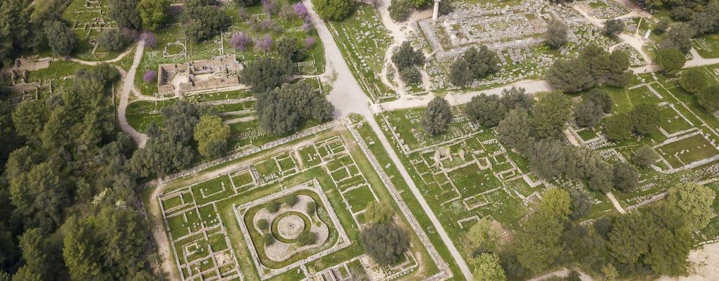 Excursión de un día a la antigua Olimpia desde Costa Navarino