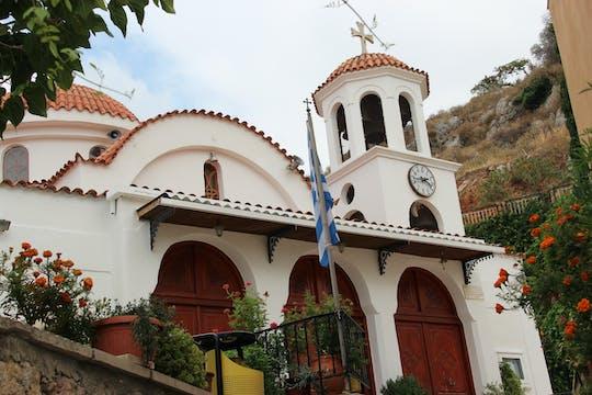 Wycieczka Cave Sfentoni i Axos Village z Chanii