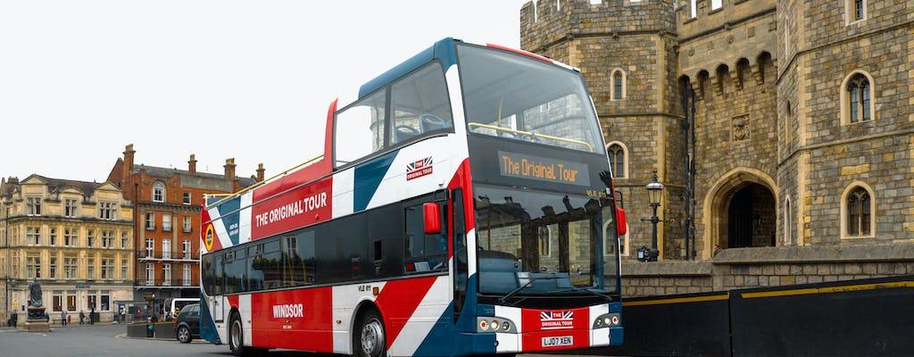 Windsor - Excursão de ônibus 24 horas de ônibus panorâmico