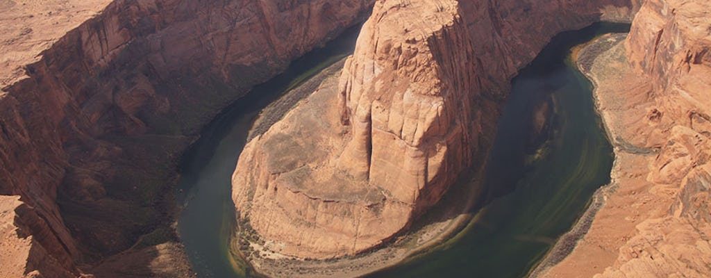 Antelope Canyon com tour aéreo de Horseshoe Bend do Arizona